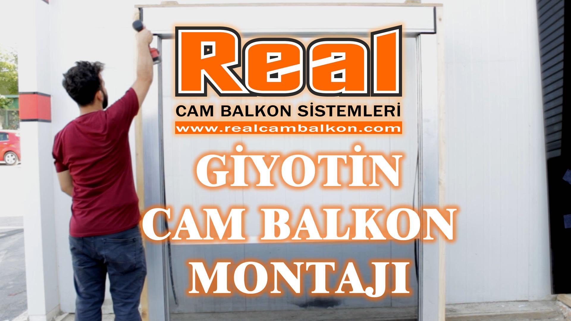 Giyotin-Cam-Balkon-Montaji